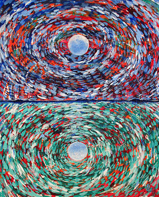 Close To The Edge Art Print by Rollin Kocsis