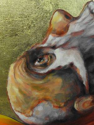 Painting - Close Up - Jonah In The Whale by Kevin Davidson