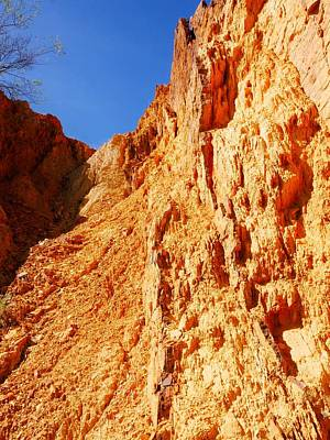 Photograph - Close Up #2 Ochre Pits, West Mcdonald Ranges, Australia by Lexa Harpell