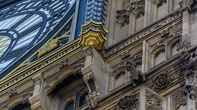 Photograph - Close Up Of Big Ben D London by Jacek Wojnarowski