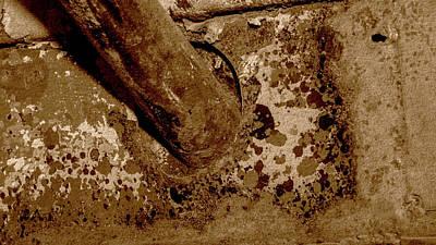 Photograph - Close Up Of Corroded Pipe Fine Art by Jacek Wojnarowski