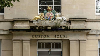 Photograph - Close Up Of Custom House Facade Bristol by Jacek Wojnarowski