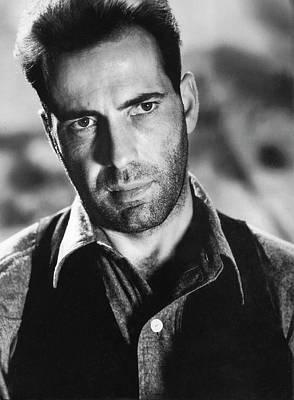 Close-up Of Humphrey Bogart As  Gangster Killer Duke Mantee The Petrified Forest 1936 Art Print by David Lee Guss
