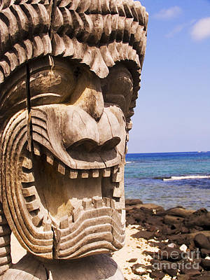 Kahuna Photograph - Close-up Of Kii by Ron Dahlquist - Printscapes