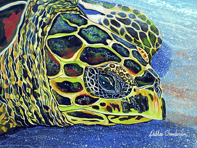 Painting - Close Up Of Kohilo by Debbie Chamberlin