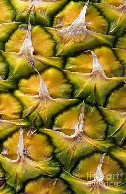 Photograph - Close-up Of Pineapple by Medicimage