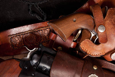 Photograph - Close Up Of Revolvers by Scott Sanders
