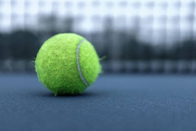 Photograph - Close Up Tennis Ball by Doug Ash