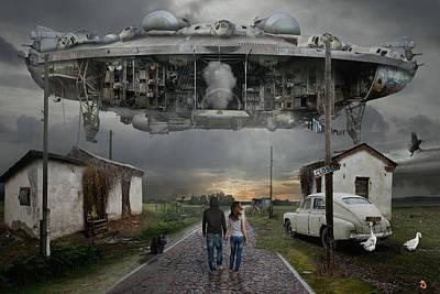 Digital Art - Closed by Alexander Kruglov