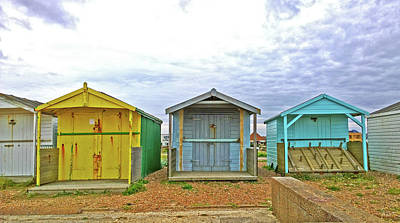 Photograph - Closed Huts by Anne Kotan