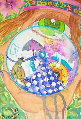 Clock Face Mixed Media - Closed Quarter by Kyara Vitro