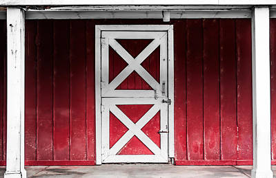 Photograph - Closed Stall by Shelby  Young