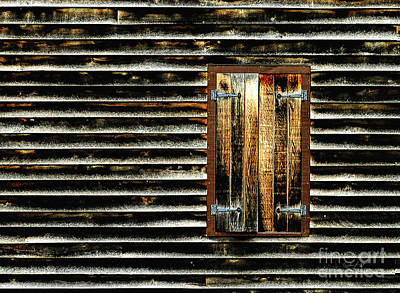 Photograph - Closed Window by Elijah Knight
