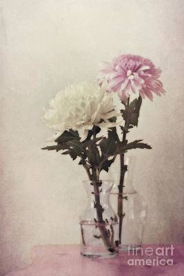 Vase Table Photograph - Closely by Priska Wettstein