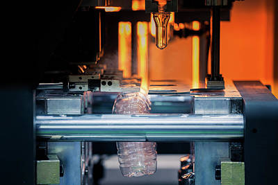 Photograph - Closeup Of Laser Welding Process by Anek Suwannaphoom