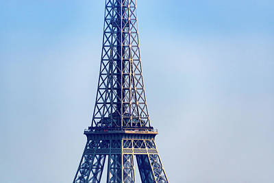 Photograph - Closeup Of The Eiffel Tower by Dutourdumonde Photography