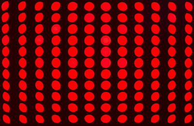 Photograph - Closeup Red Led Lights by John Williams
