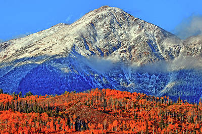 Beautiful Vistas Photograph - Closing In On Fall by Scott Mahon