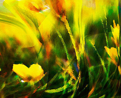 Digital Art - Clothed In Gladness by Jean Moore