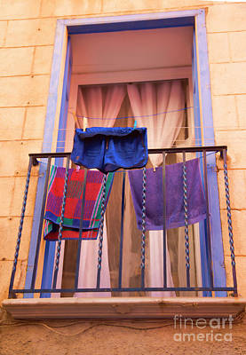 Photograph - Clothes Line France  by Chuck Kuhn