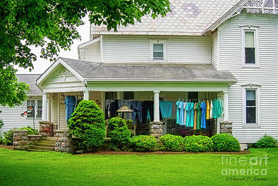 Photograph - Clothes On The Front Porch by David Arment