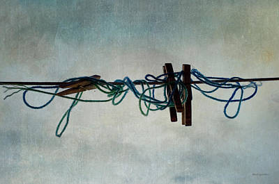 Photograph - Clothesline I by David Gordon