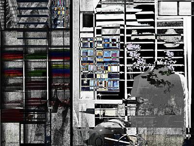 Mixed Media - Clothier Alterations by Don Gradner