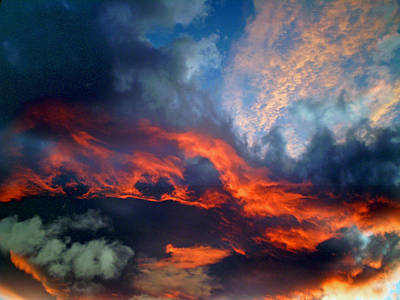 Sunset Abstract Photograph - Cloud Abstract 1 by Michael Durst