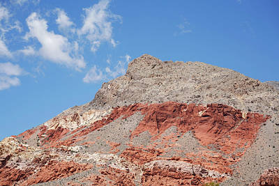 Photograph - Cloud And Red Rock Canyon by Marilyn Hunt