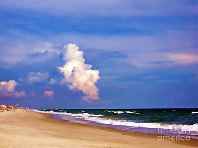 Print featuring the photograph Cloud Approaching by Roberta Byram