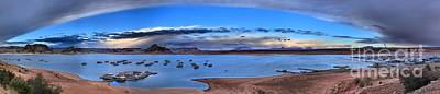 Photograph - Cloud Arc At Lake Powell by Adam Jewell