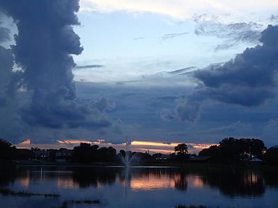 Photograph - Cloud Art And Sunset by Becky Erickson