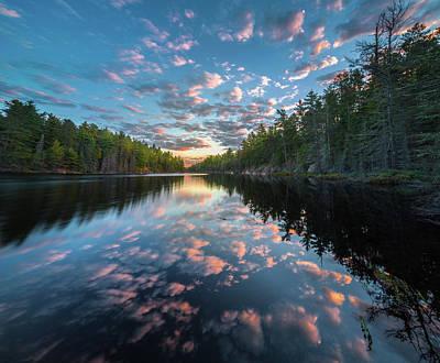 Photograph - Cloud Atlas // Bwca, Minnesota by Nicholas Parker