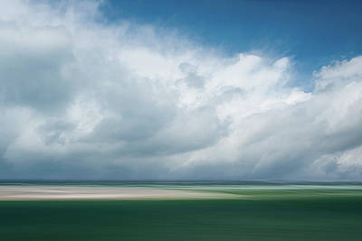 Cloud Bank Over Chatham Art Print