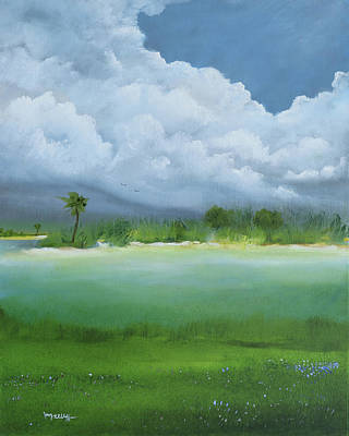Painting - Cloud Before The Storm by Alicia Maury