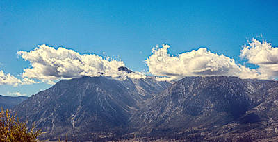 Photograph - Cloud Capped Mountains by AJ Schibig