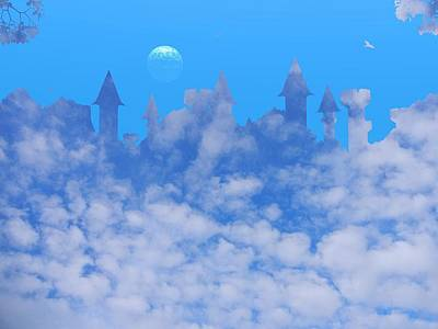 Cloud Castle Art Print by Mark Blauhoefer