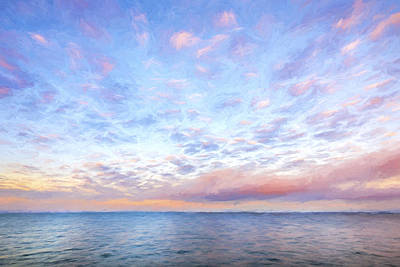 Cloud Collective II Art Print by Jon Glaser