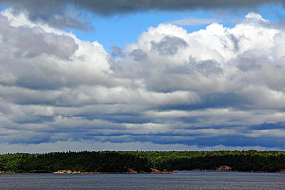 Photograph - Cloud Cover by Debbie Oppermann