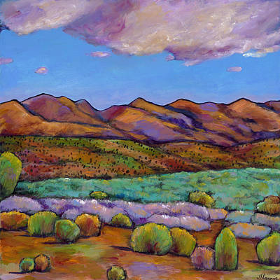 Arizona Desert Painting - Cloud Cover by Johnathan Harris