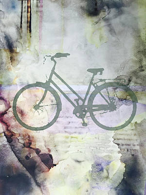 Digital Art - Cloud Cycling by Nancy Merkle