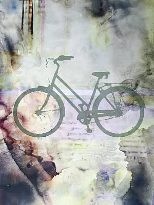 Digital Art - Cloud Cycling by Nancy Merkle