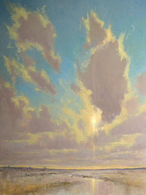 Painting - Cloud Dance by Timon Sloane