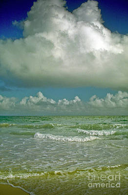 Photograph - Cloud Eruption Marathon Beach Florida by David Zanzinger