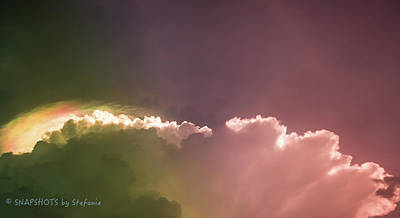 Cloud Eruption Art Print