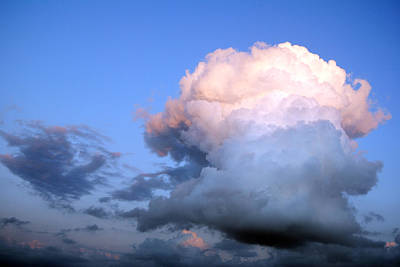 Photograph - Cloud Explosion by Isam Awad