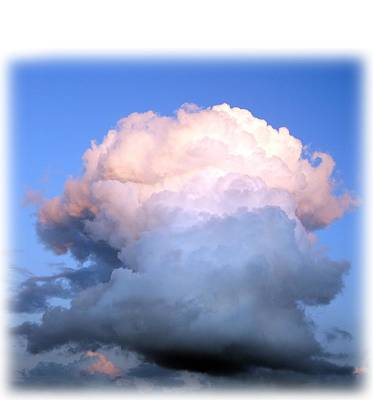 Photograph - Cloud Explosion T-shirt by Isam Awad