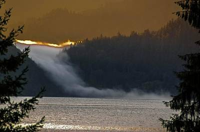 Photograph - Cloud Fall On Crescent Lake by NaturesPix