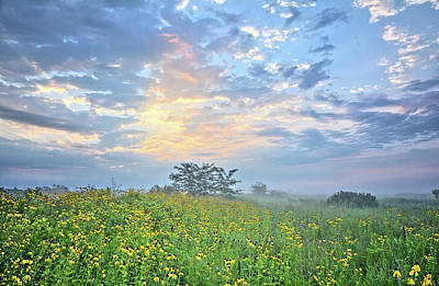 Photograph - Cloud Filled Morning 2 by Bonfire Photography