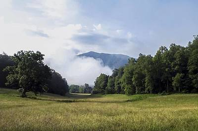 Photograph - Cloud Fog Rolling Into Cades Cove by NaturesPix